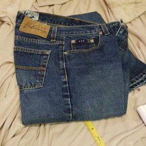 Express Blues Dark Blue Jeans Size 1/2 R JCT8